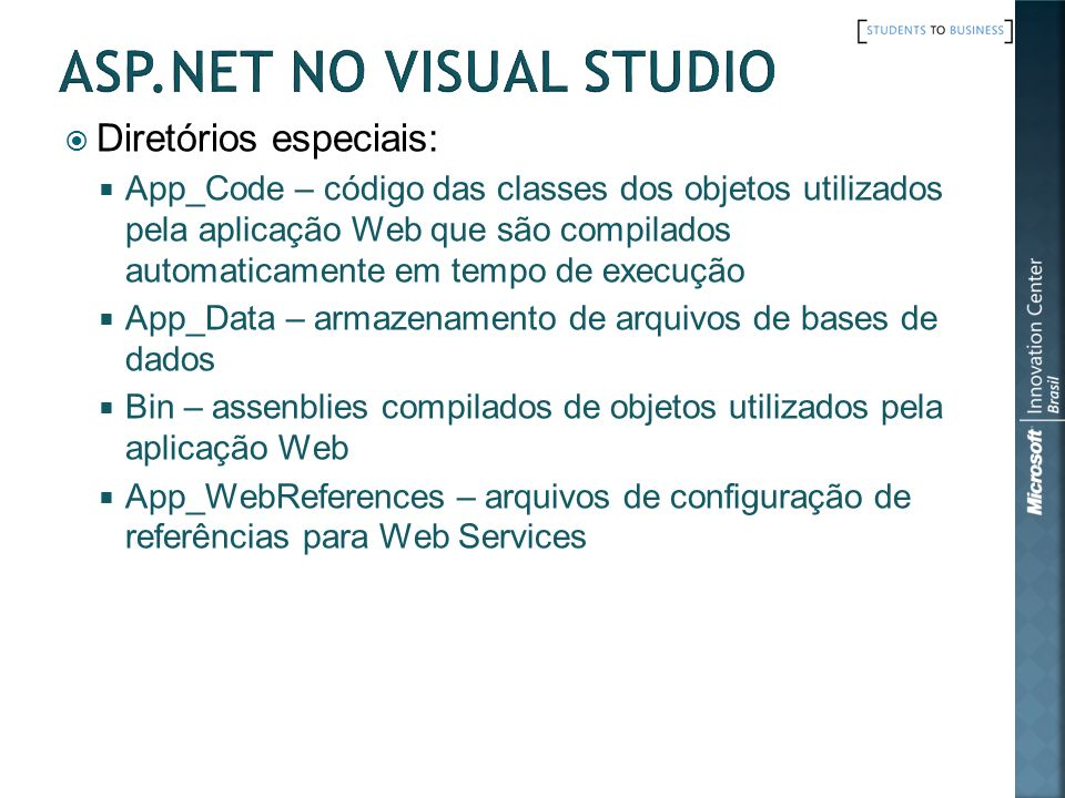 ASP.Net no Visual Studio