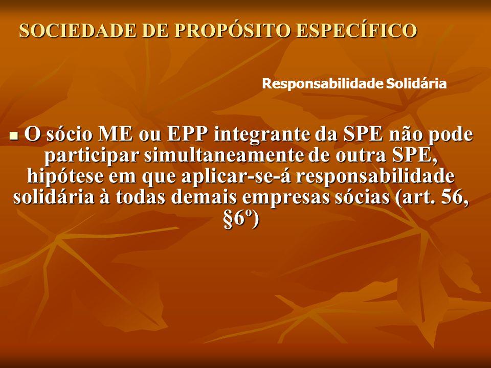 SOCIEDADE DE PROPÓSITO ESPECÍFICO