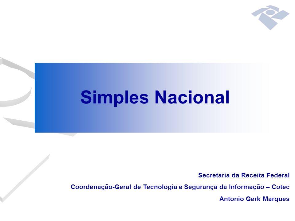Simples Nacional Secretaria da Receita Federal