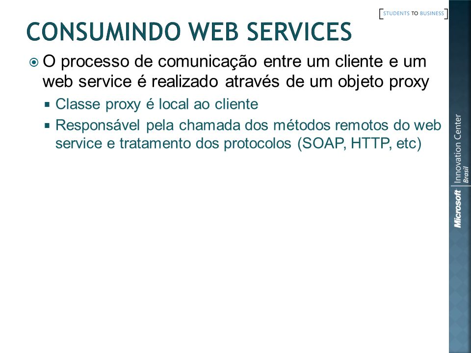 Consumindo Web Services