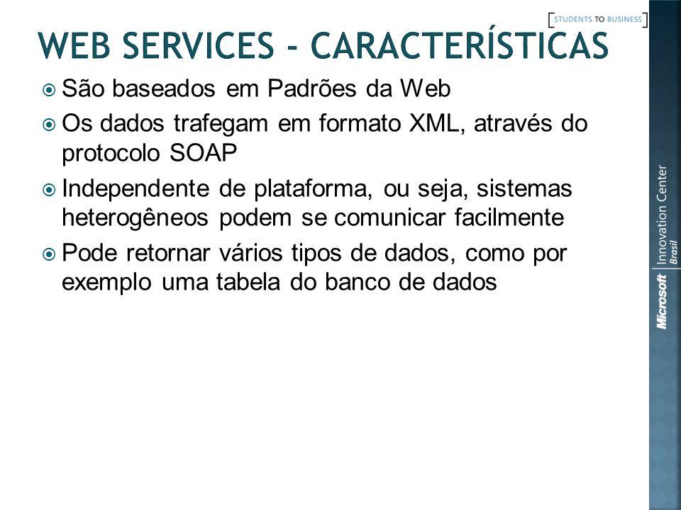 Web Services - Características