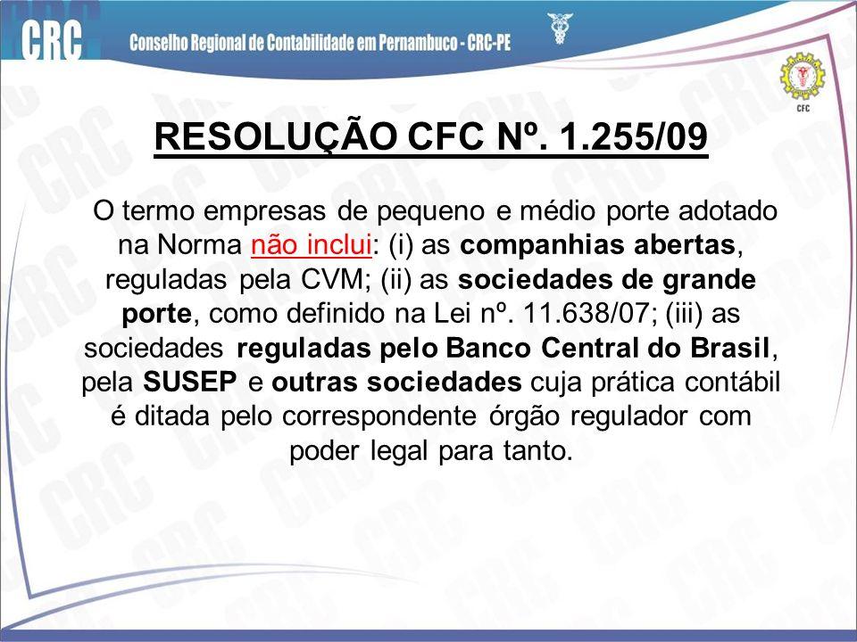RESOLUÇÃO CFC Nº.