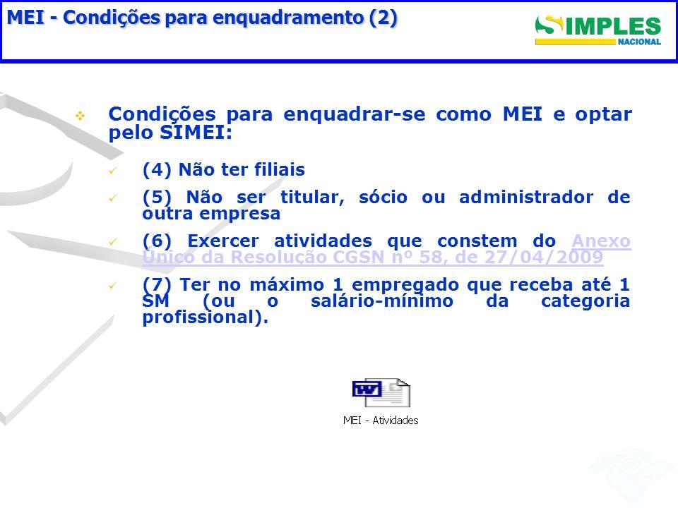 MEI - Condições para enquadramento (2)