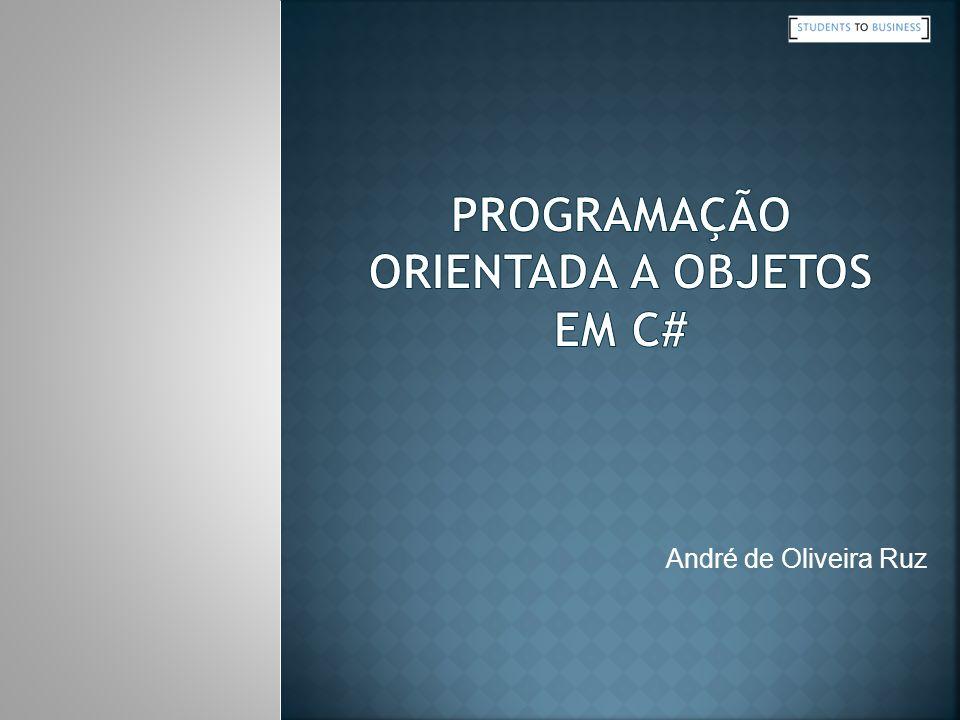 Programação Orientada a Objetos em C#