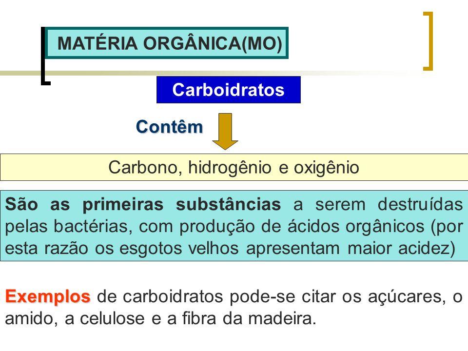 Carbono, hidrogênio e oxigênio