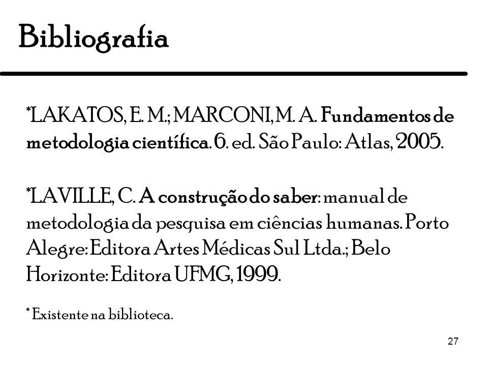 Metodologia Científica Turma 2010