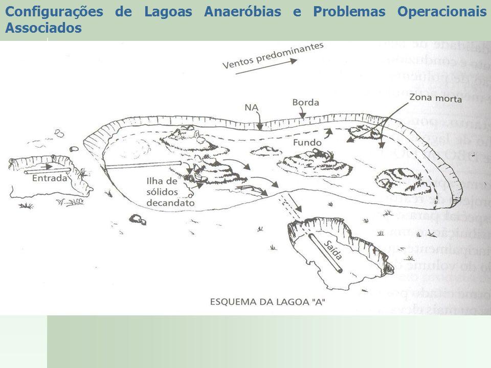 Configurações de Lagoas Anaeróbias e Problemas Operacionais Associados