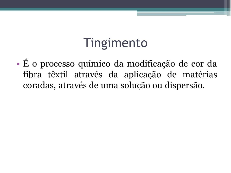 Tingimento