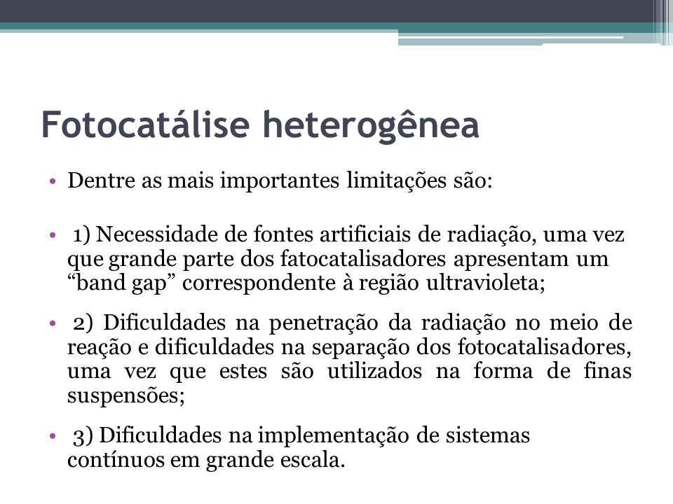 Fotocatálise heterogênea