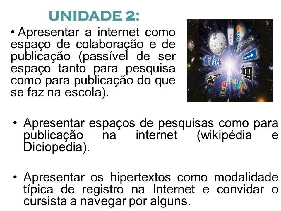 UNIDADE 2: