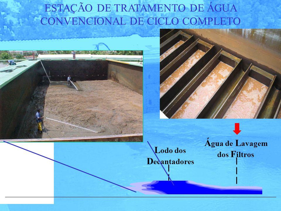 ESTAÇÃO DE TRATAMENTO DE ÁGUA CONVENCIONAL DE CICLO COMPLETO