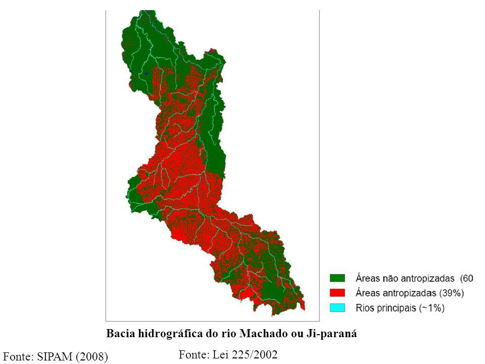 Bacia hidrográfica do rio Machado ou Ji-paraná