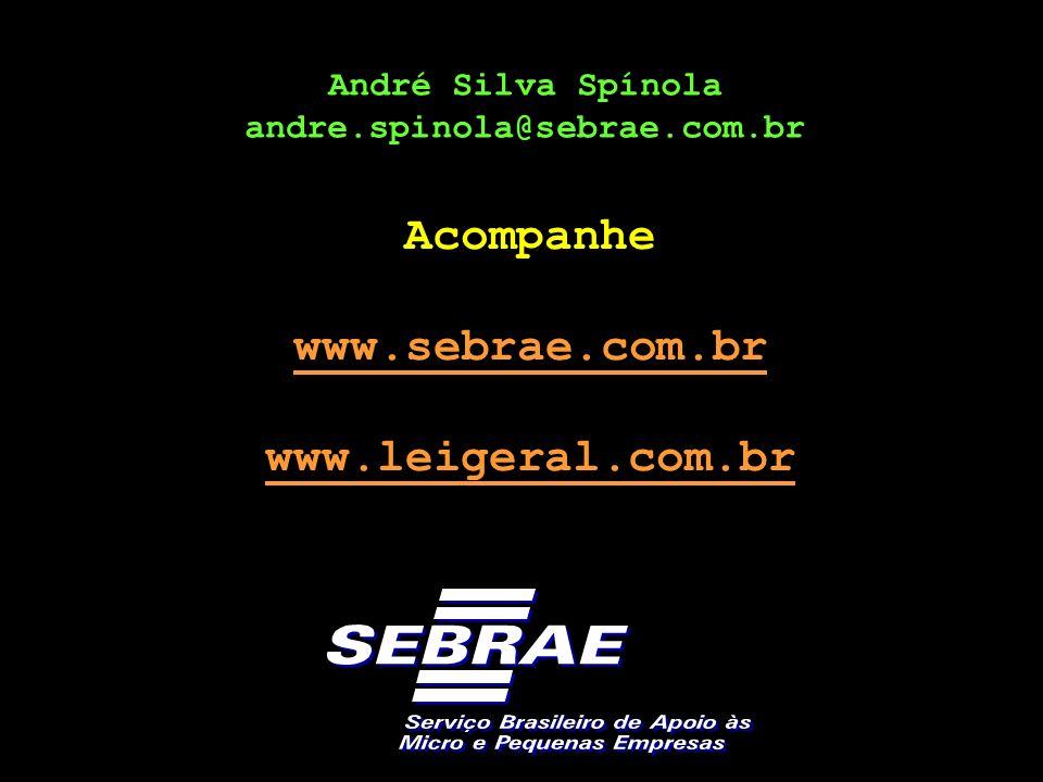 Acompanhe www.sebrae.com.br www.leigeral.com.br