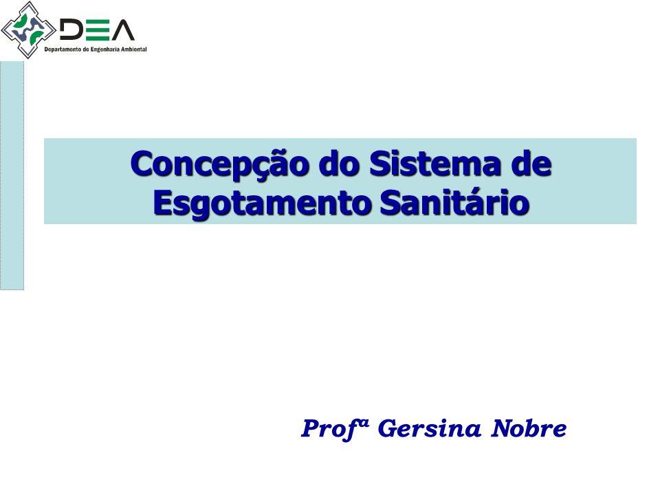 Concepção do Sistema de Esgotamento Sanitário