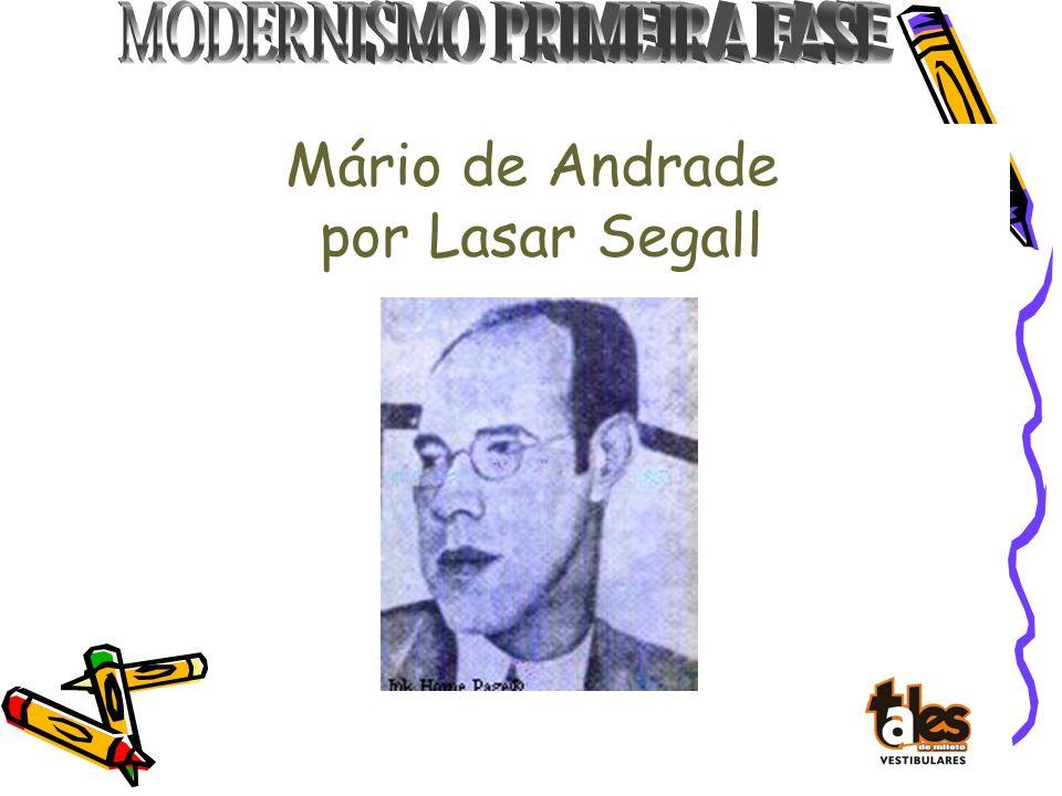 Mário de Andrade por Lasar Segall