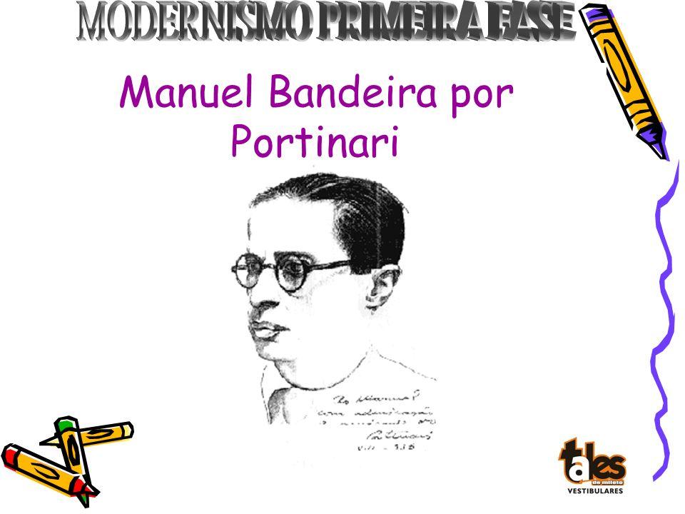 Manuel Bandeira por Portinari