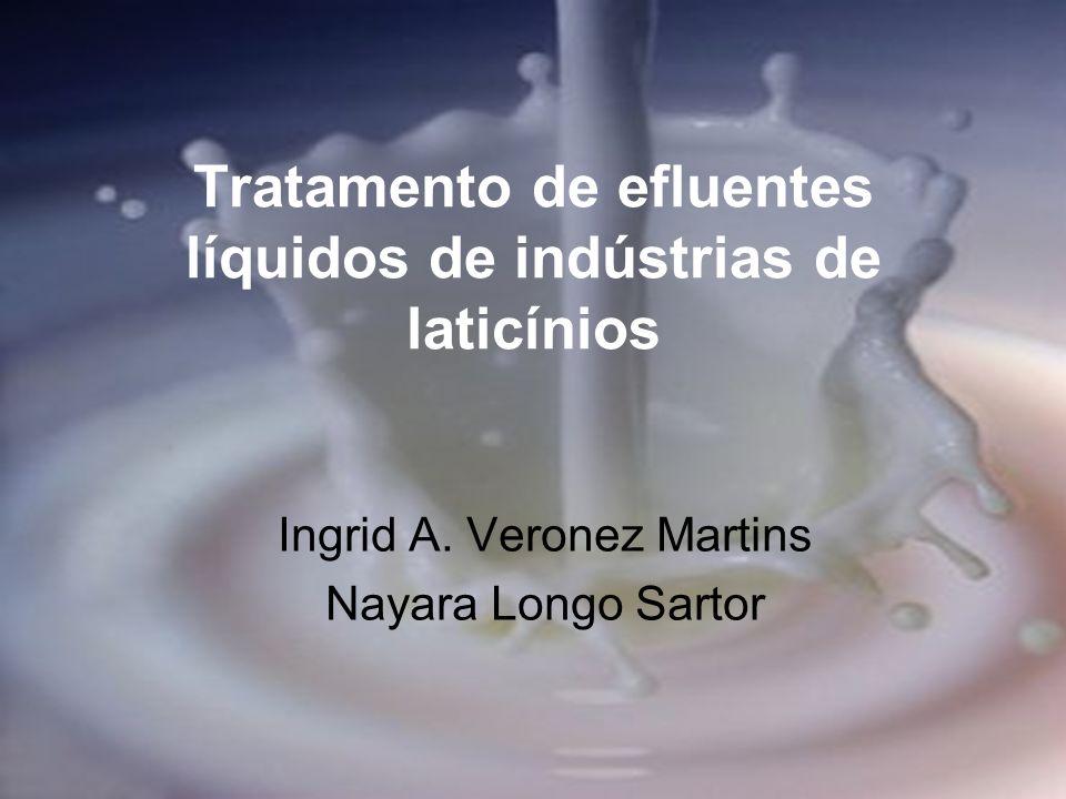 Tratamento de efluentes líquidos de indústrias de laticínios