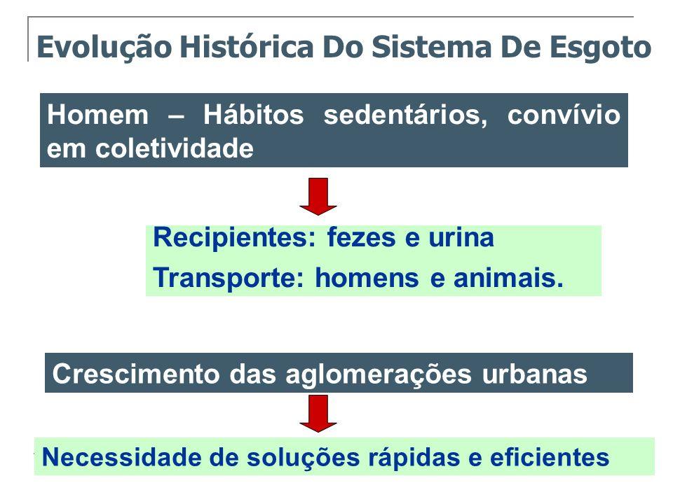 Evolução Histórica Do Sistema De Esgoto
