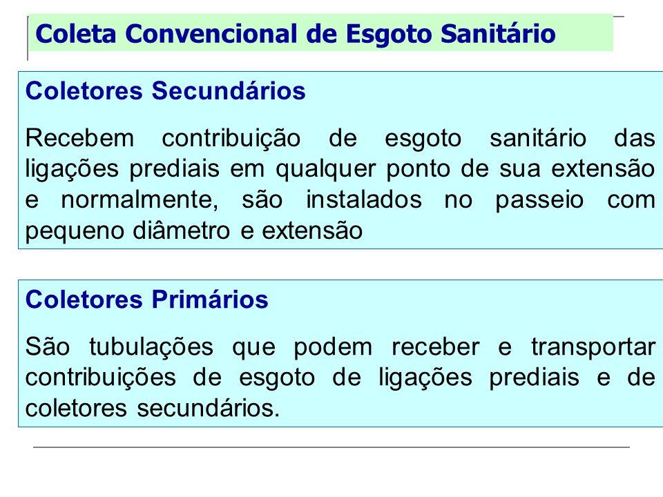 Coleta Convencional de Esgoto Sanitário