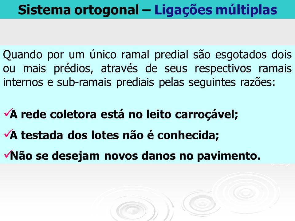Sistema ortogonal – Ligações múltiplas