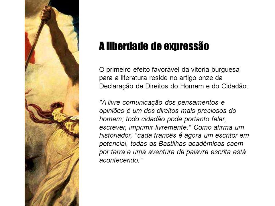 A liberdade de expressão