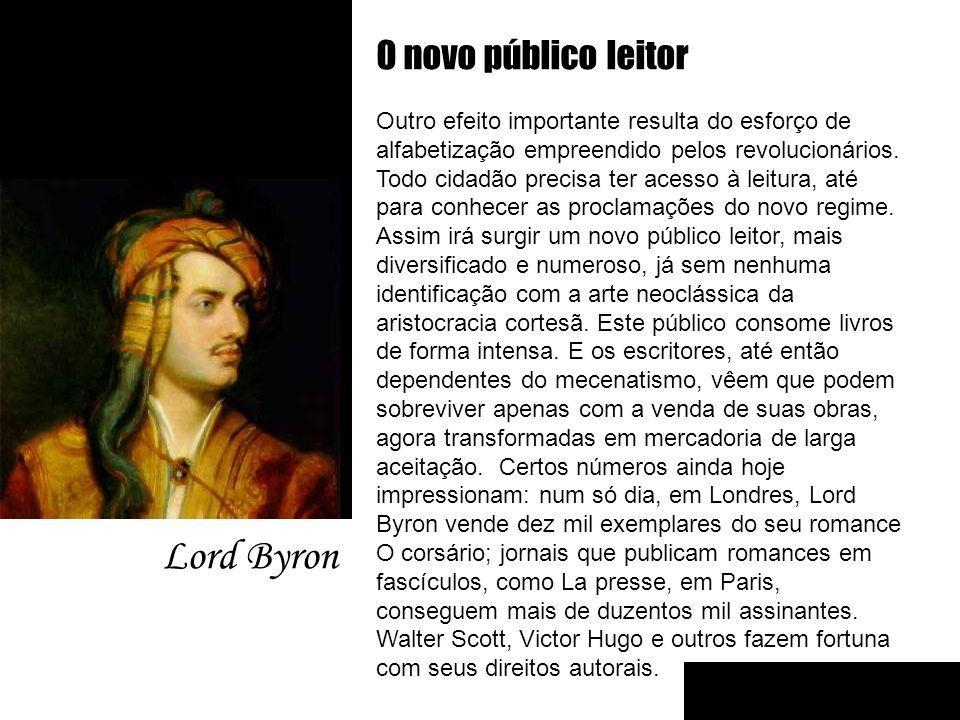Lord Byron O novo público leitor