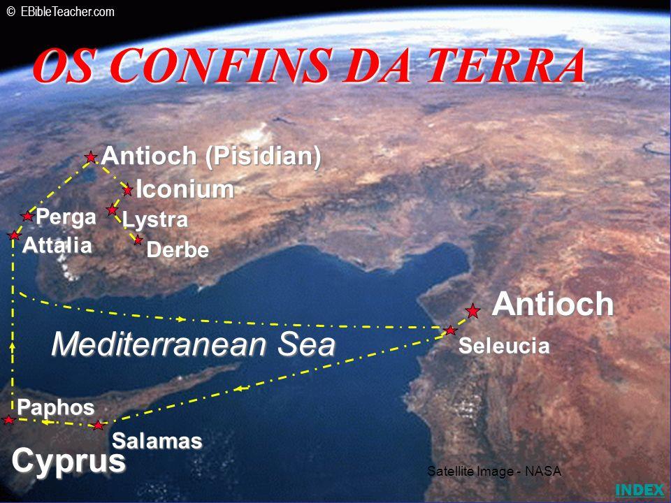 OS CONFINS DA TERRA Antioch Mediterranean Sea Cyprus