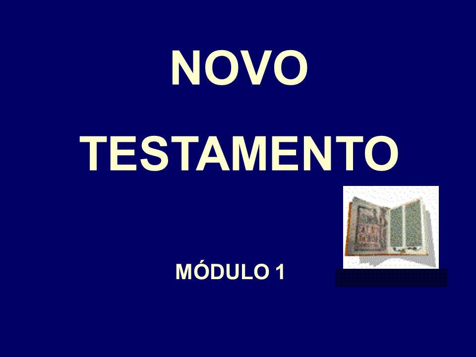 NOVO TESTAMENTO MÓDULO 1