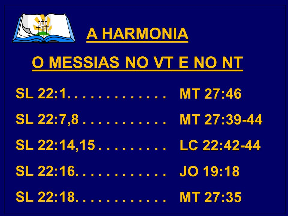A HARMONIA O MESSIAS NO VT E NO NT