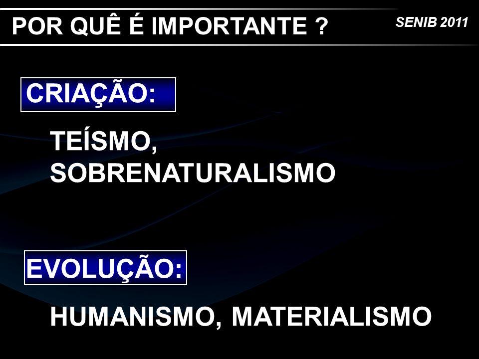 TEÍSMO, SOBRENATURALISMO