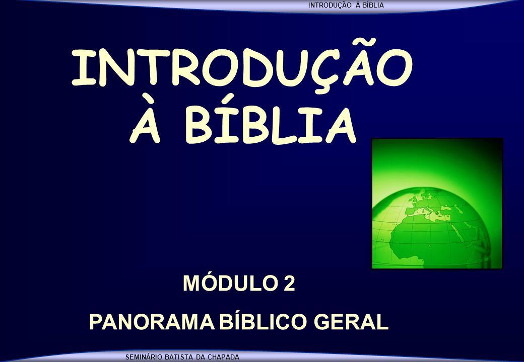 PANORAMA BÍBLICO GERAL