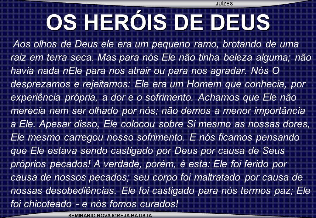 OS HERÓIS DE DEUS