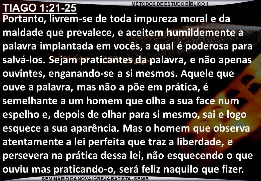 TIAGO 1:21-25