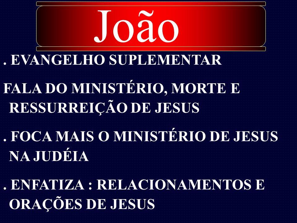 João . EVANGELHO SUPLEMENTAR