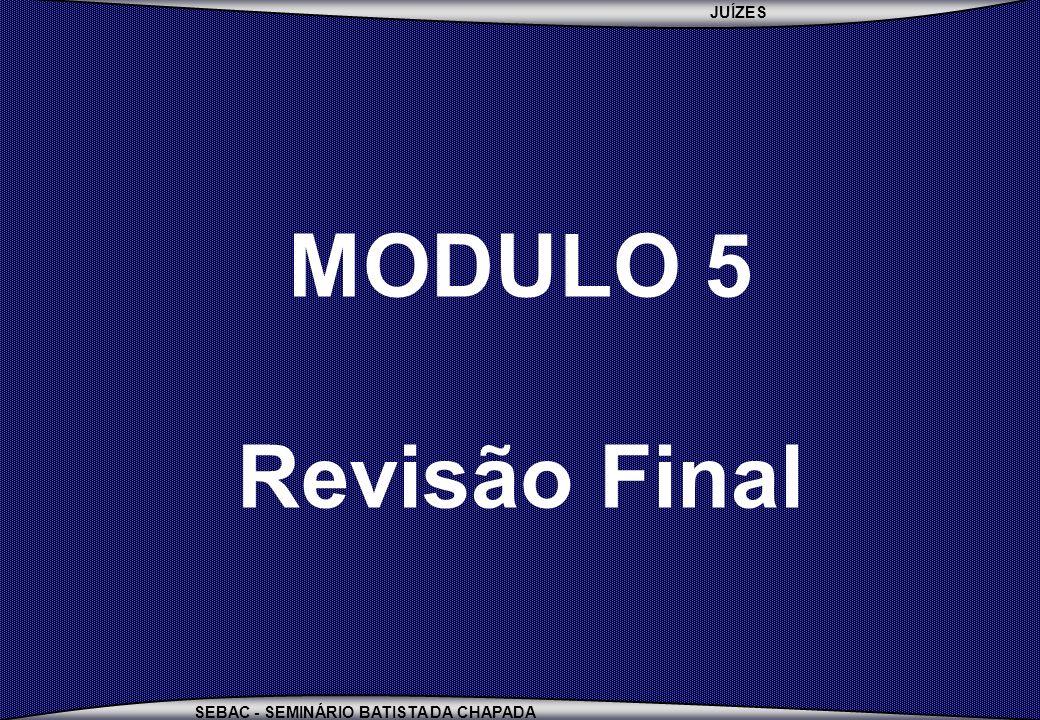 MODULO 5 Revisão Final