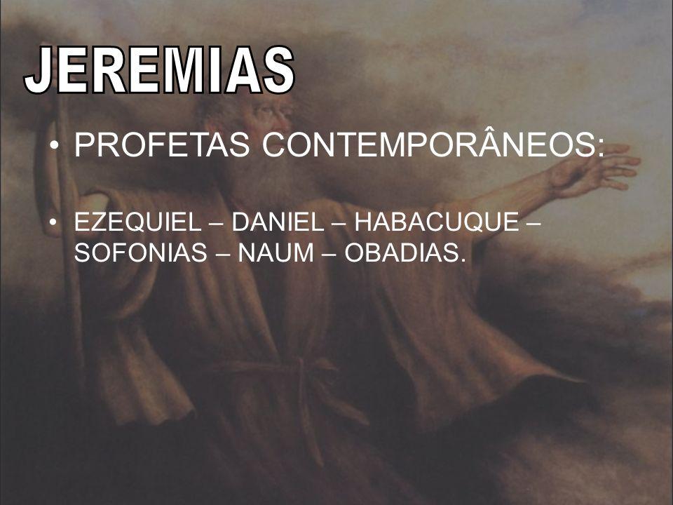 PROFETAS CONTEMPORÂNEOS: