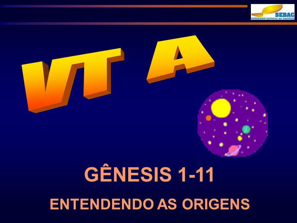 VT A GÊNESIS 1-11 ENTENDENDO AS ORIGENS