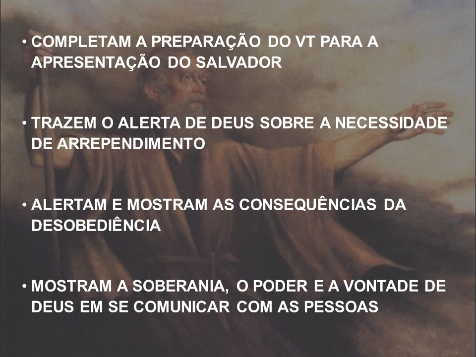 COMPLETAM A PREPARAÇÃO DO VT PARA A APRESENTAÇÃO DO SALVADOR