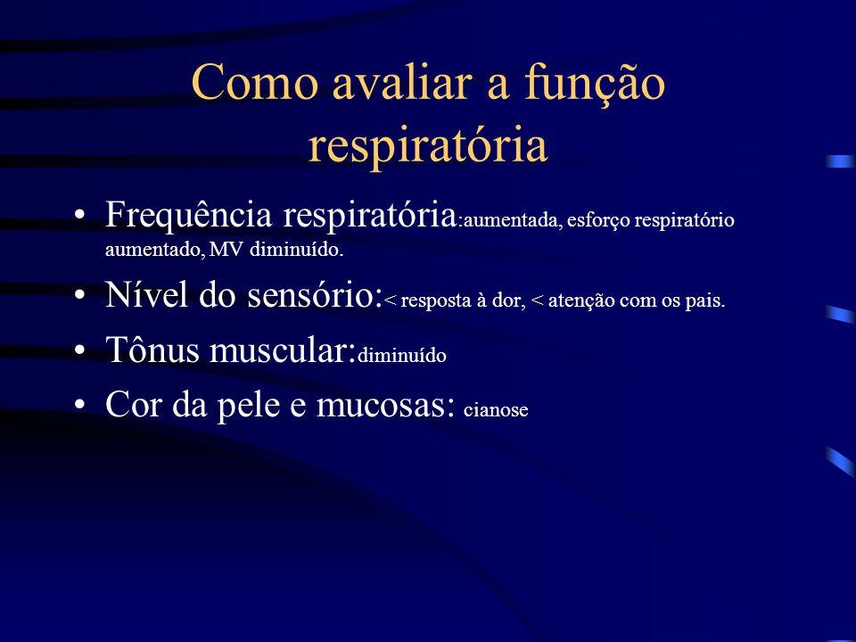 Como avaliar a função respiratória