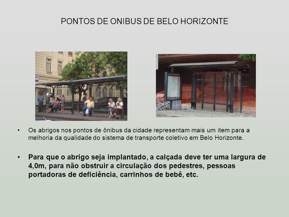 PONTOS DE ONIBUS DE BELO HORIZONTE