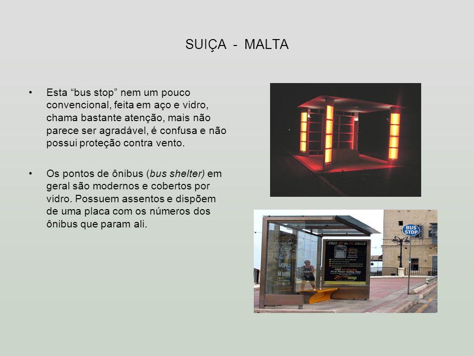 SUIÇA - MALTA