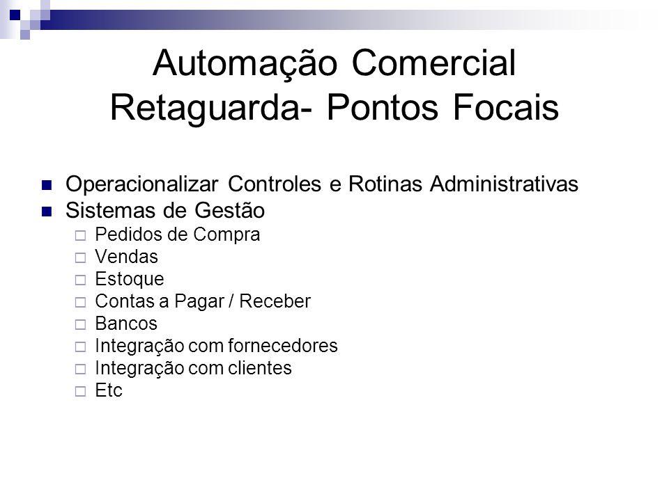 Automação Comercial Retaguarda- Pontos Focais