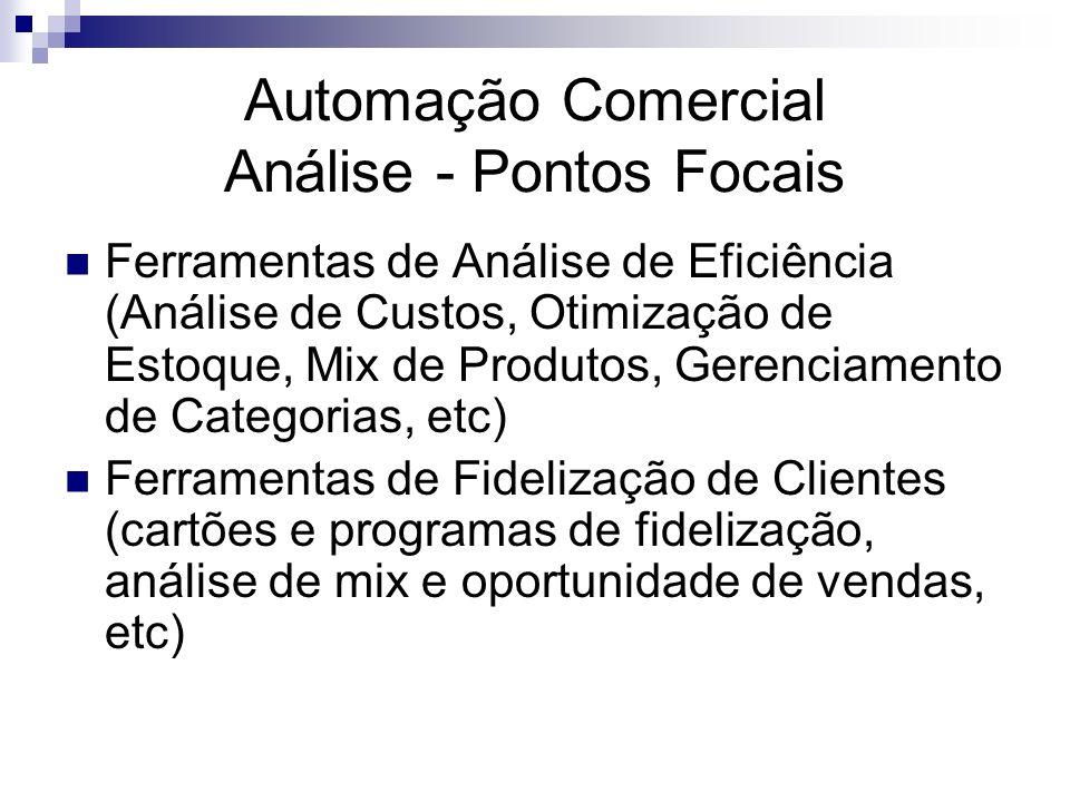 Automação Comercial Análise - Pontos Focais