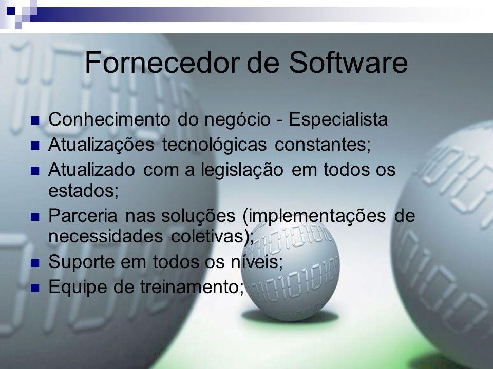 Fornecedor de Software