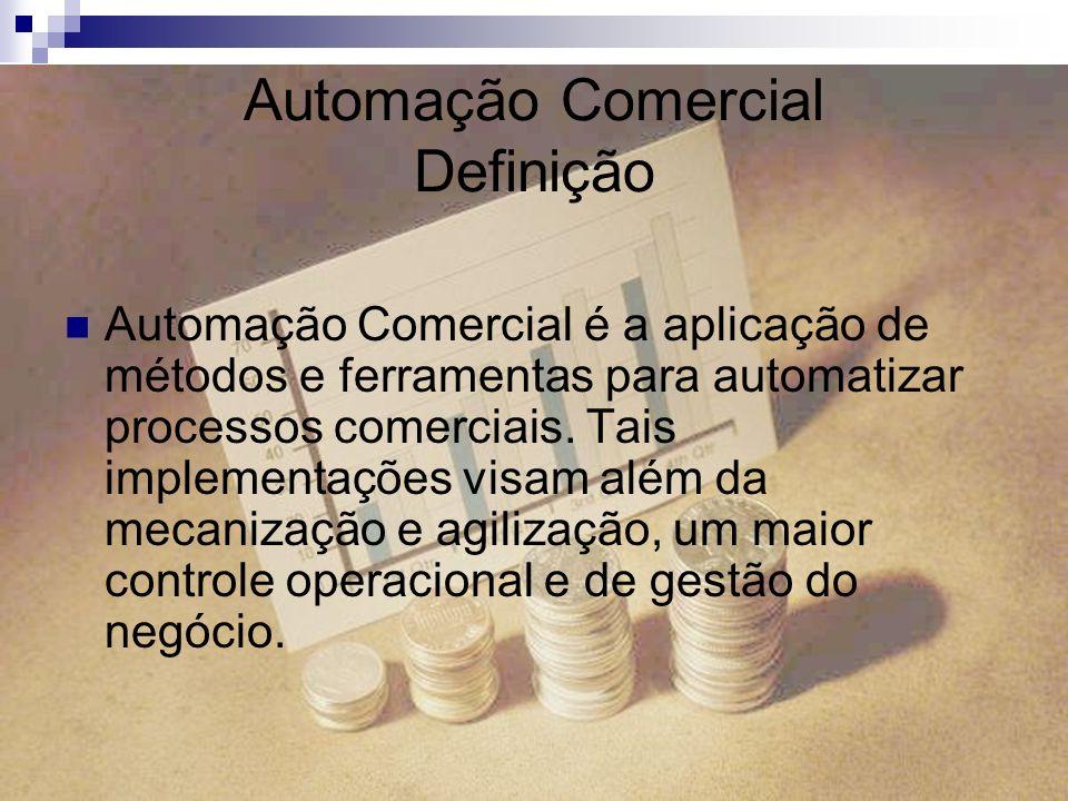 Automação Comercial Definição
