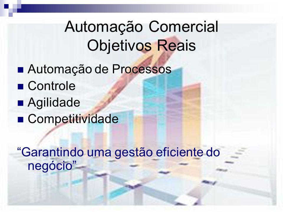 Automação Comercial Objetivos Reais