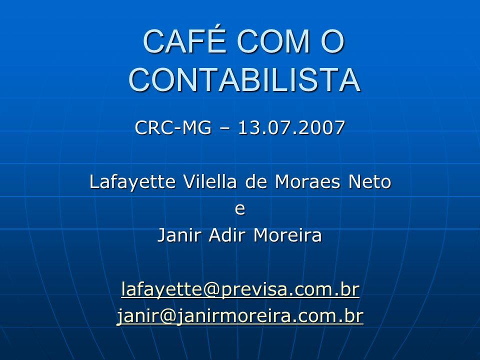 CAFÉ COM O CONTABILISTA