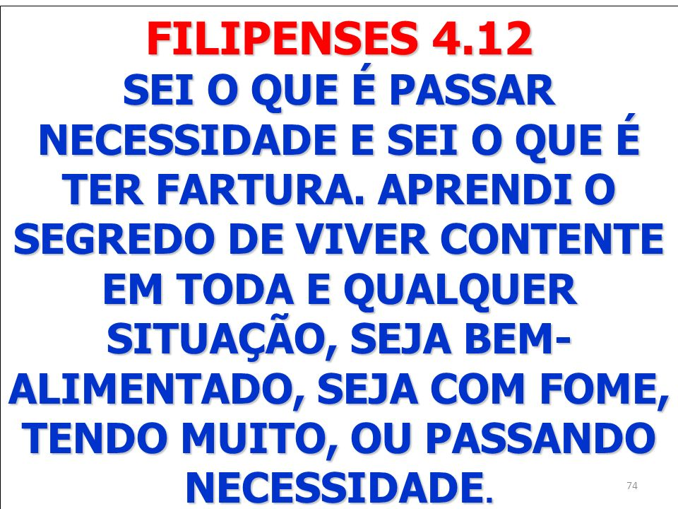 FILIPENSES 4.12