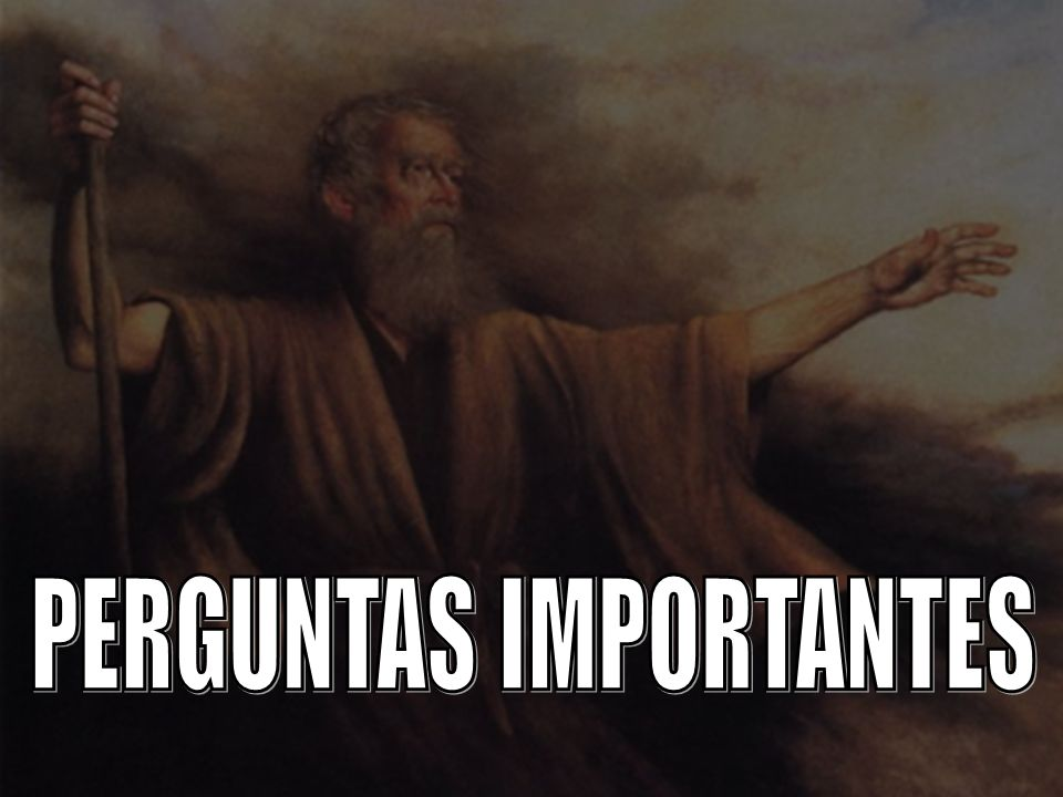 PERGUNTAS IMPORTANTES