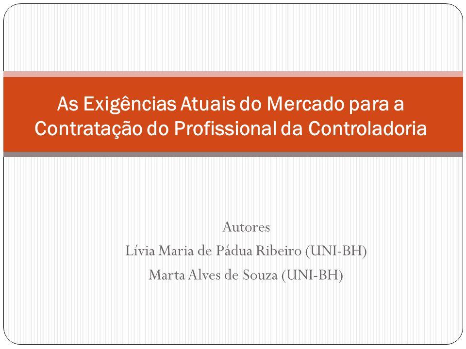As Exigências Atuais do Mercado para a Contratação do Profissional da Controladoria